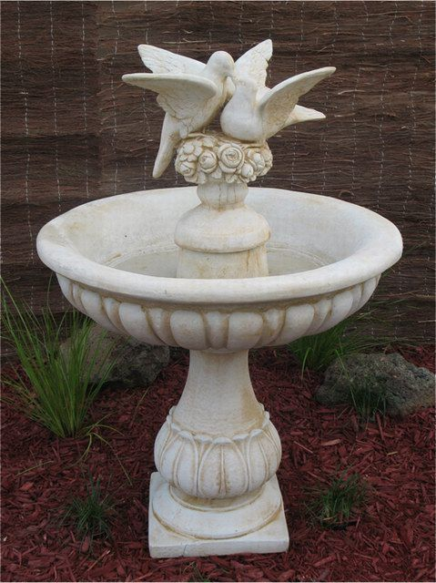 Kissing Doves Water Feature/ Fountain