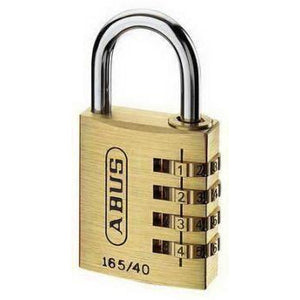 Abus 165/40C 4-Wheel Combination Padlock