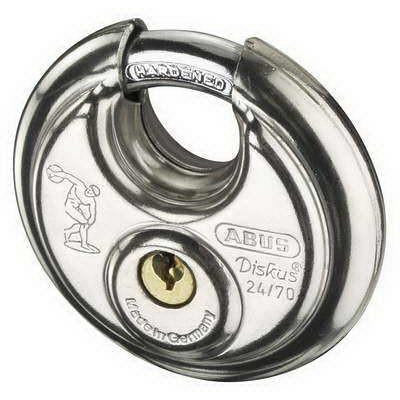 Abus Diskus Padlock With 70mm Wide Body 24RK/70