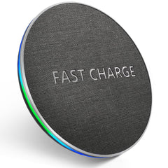 10W Fast Charge Qi Wireless Charger Pad