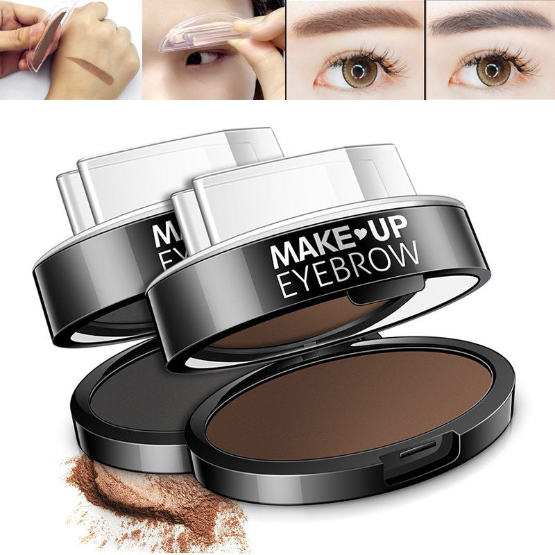 Eyebrow Powder Seal Eyebrow Stamp Shadow Set Waterproof