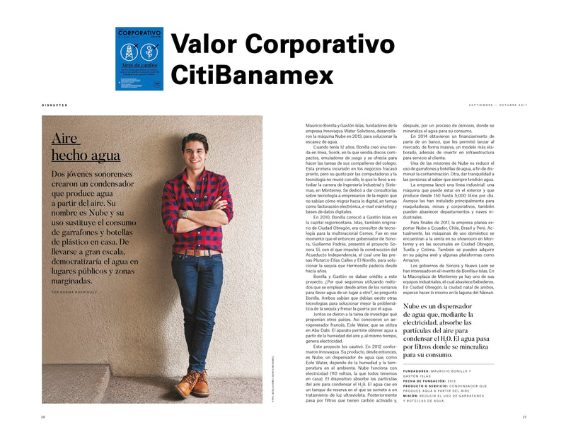 Revista: Valor corporativo CitiBanamex