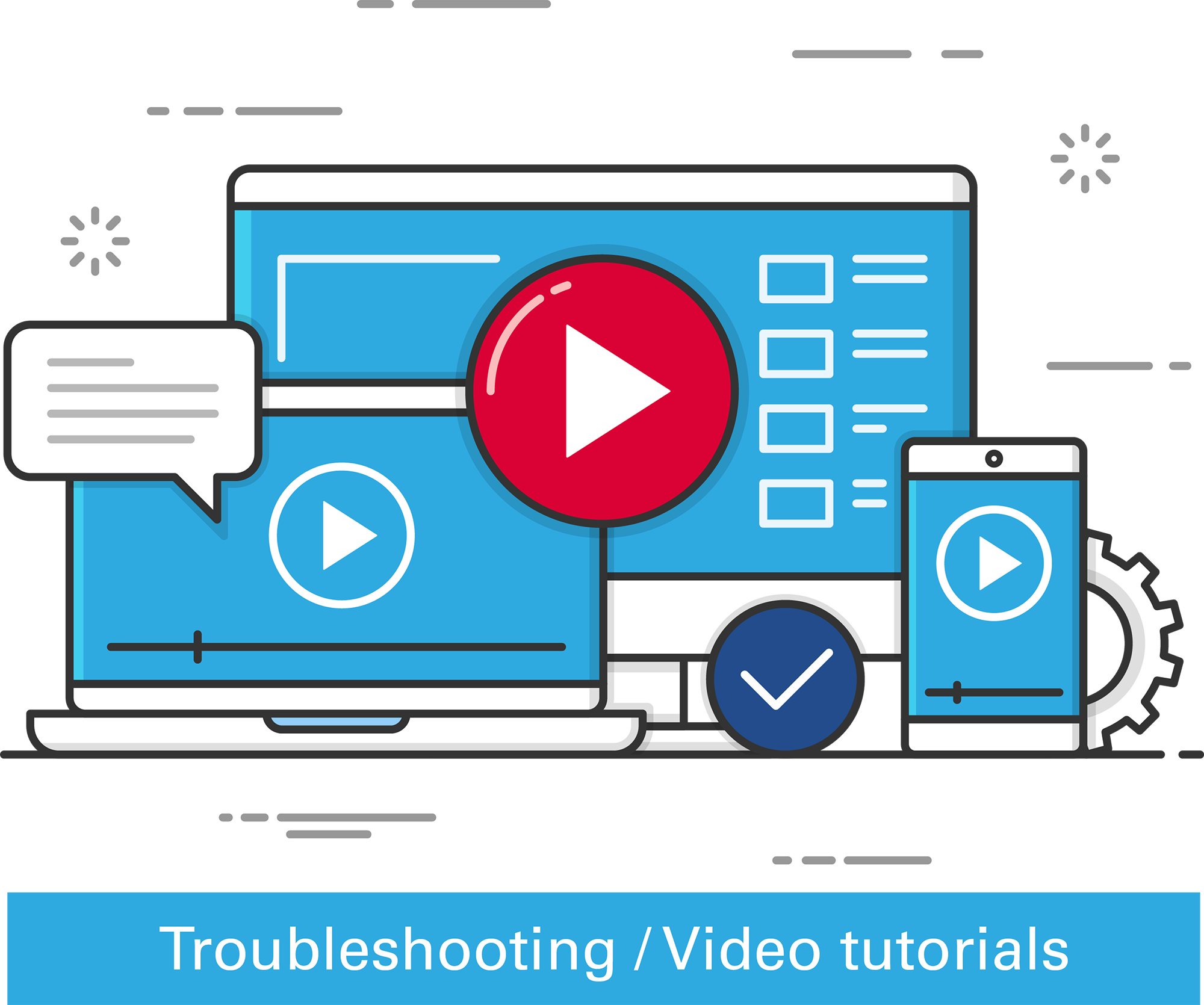 NUBE SS30 Video tutorials and troubleshooting