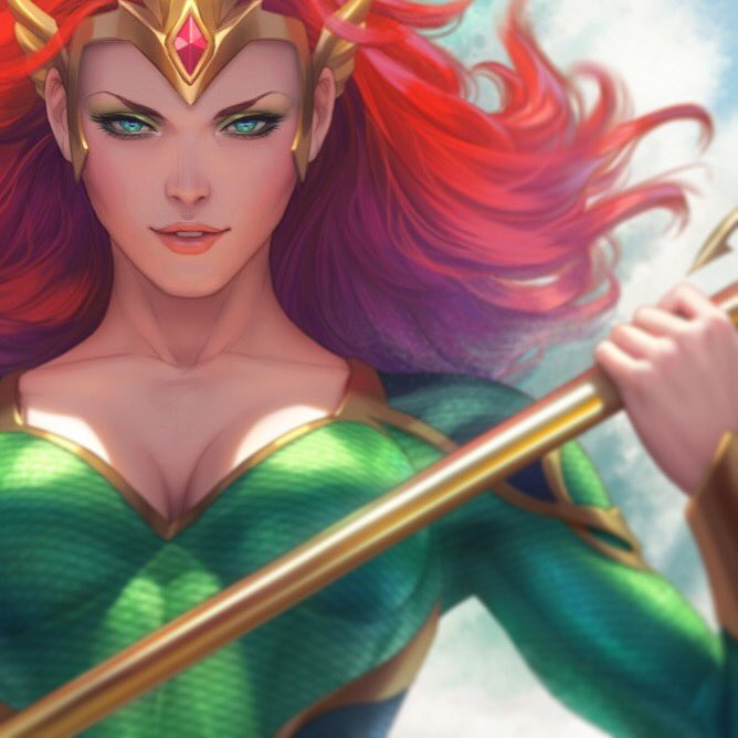 Mera: Queen of Atlantis #1 Coming out in February!