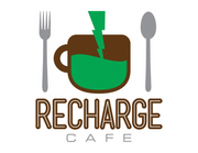 Recharge Cafe Logo