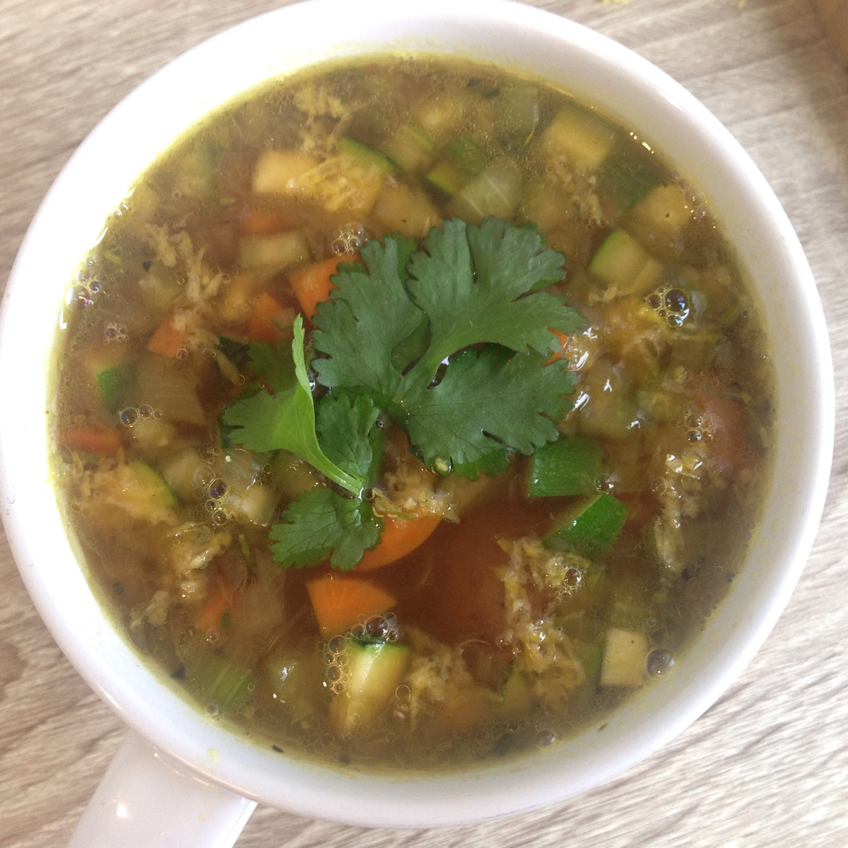 Homestyle Lentil Vegetable Soup