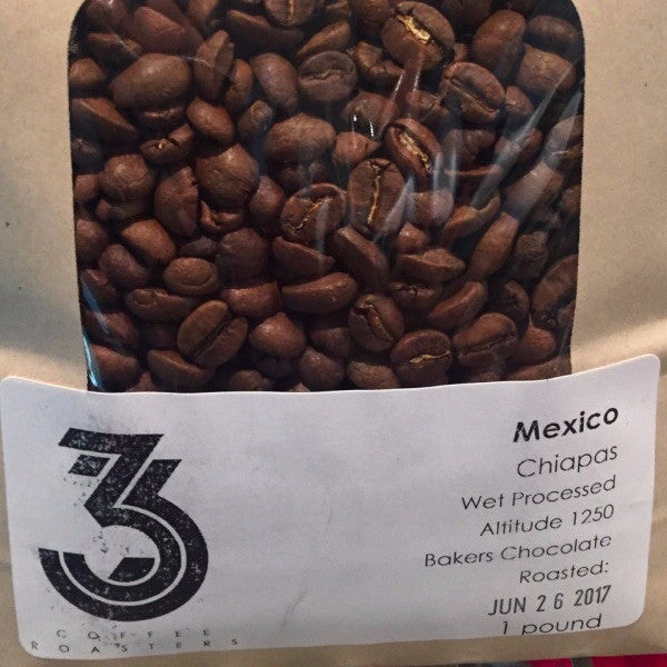 Mexican Chiapas Roasted Coffee Beans
