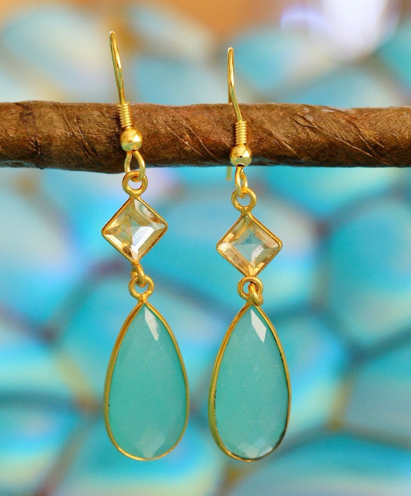 Priya Glass Earrings