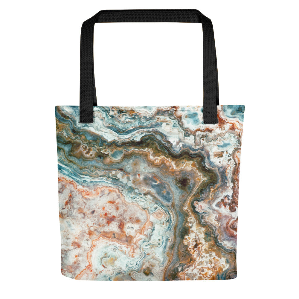 Mexican Crazy Lace Agate Tote Bag
