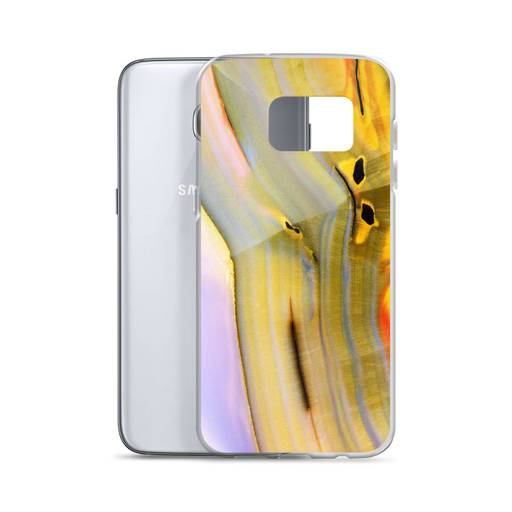 Banded Agate Pattern Samsung Case