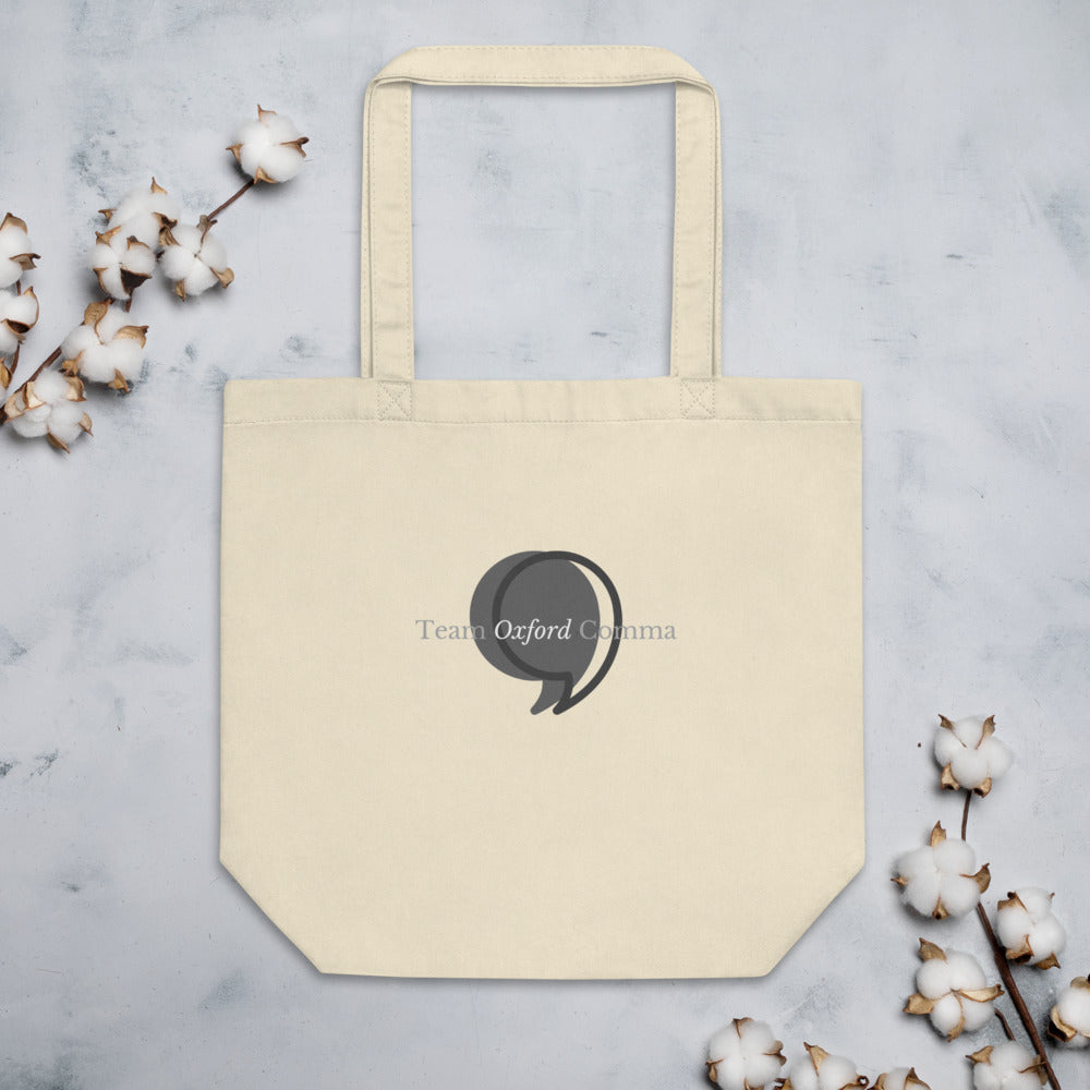 Team Oxford Comma Tote Bag