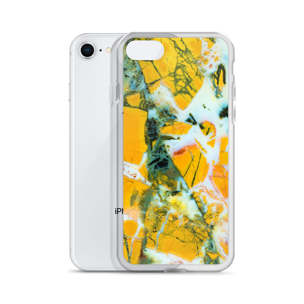 Stone Canyon Jasper Pattern iPhone Case