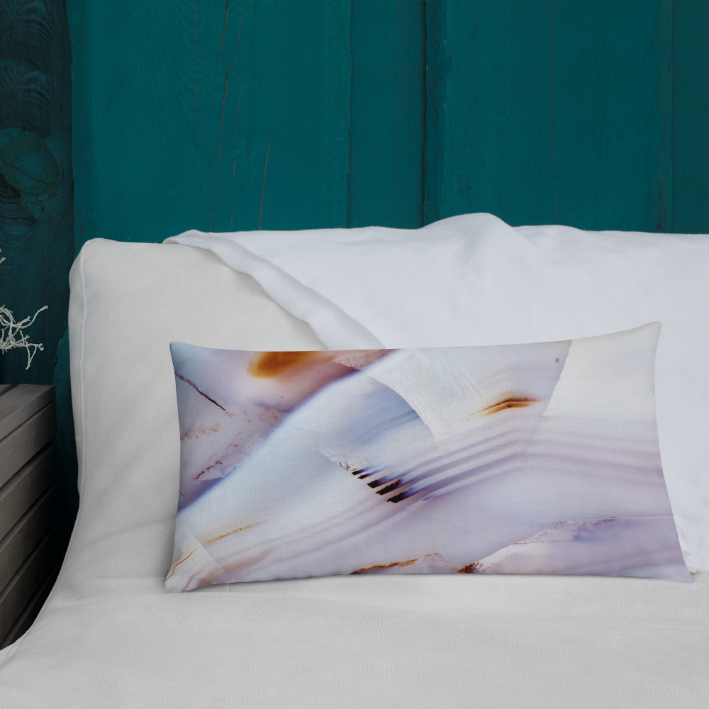 Brazilian Agate Throw Pillows