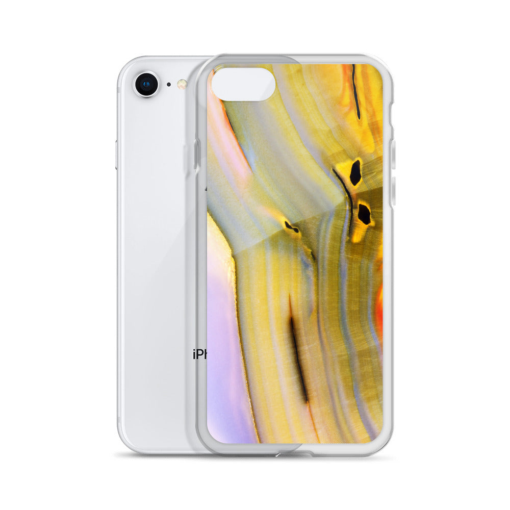 Banded Agate Pattern iPhone Case