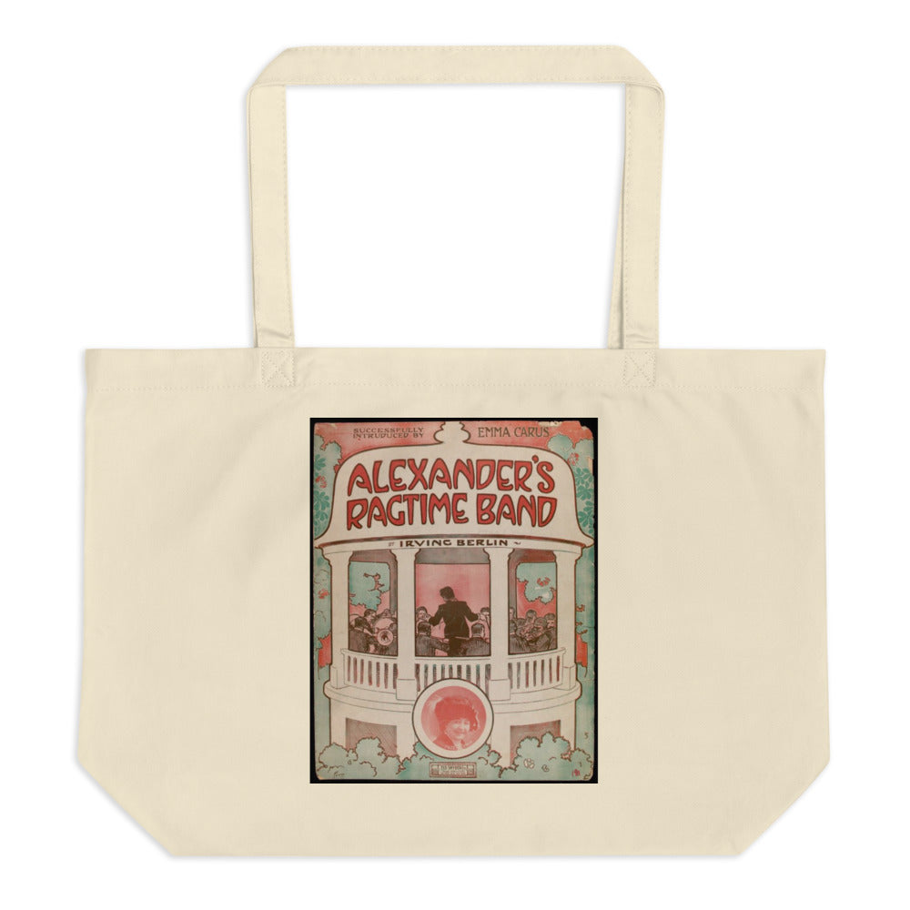 Alexander's Ragtime Band Large Tote