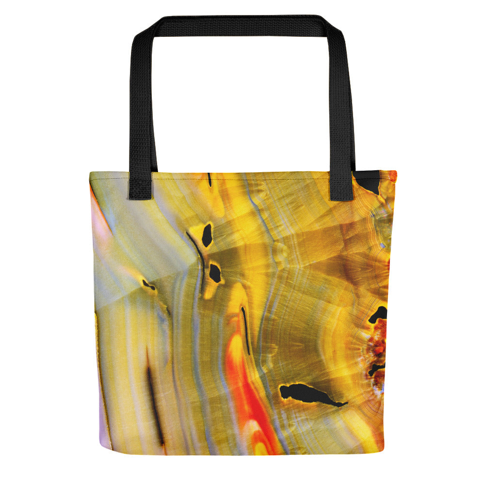 Banded Agate Stone Tote bag