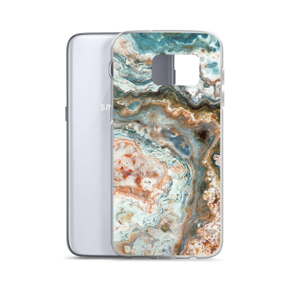 Mexican Crazy Lace Agate Pattern Samsung Case