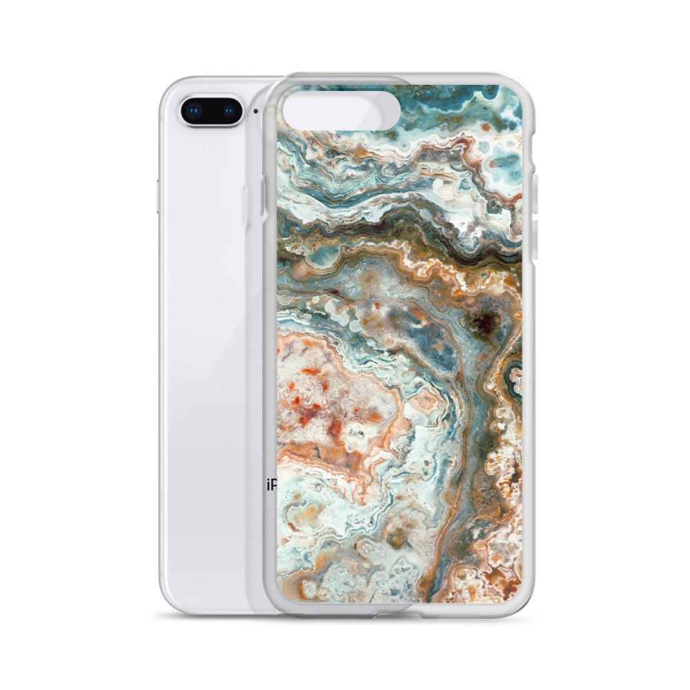 Mexican Crazy Lace Agate Pattern iPhone Case