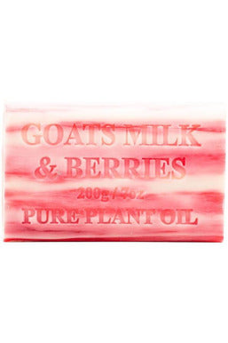 Goatsmilk and Berry Soap
