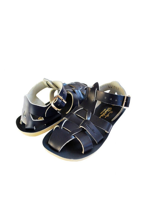 Saltwater Sandals - Sharks Navy