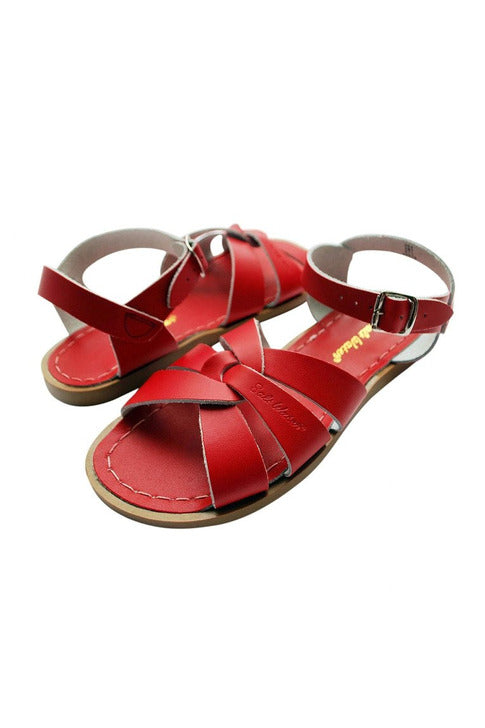 Saltwater Sandals - Original Red Youth