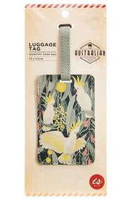 Australian Collection Luggage Tag - Birds