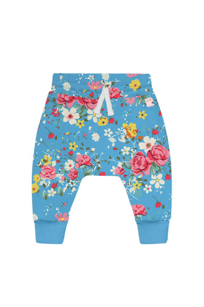 FRENCH ROSE BABY TRACKPANTS