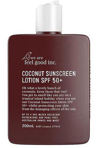 Feel Good Sunscreen - Coconut 50+