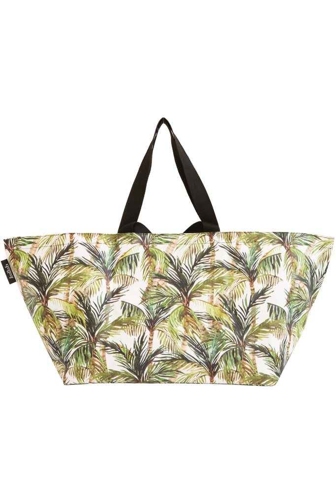 Kollab Beach Bag - Green Palm