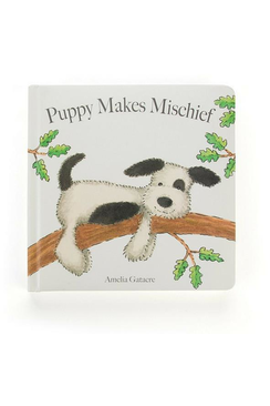 Jellycat Books - Puppy Makes Mischief
