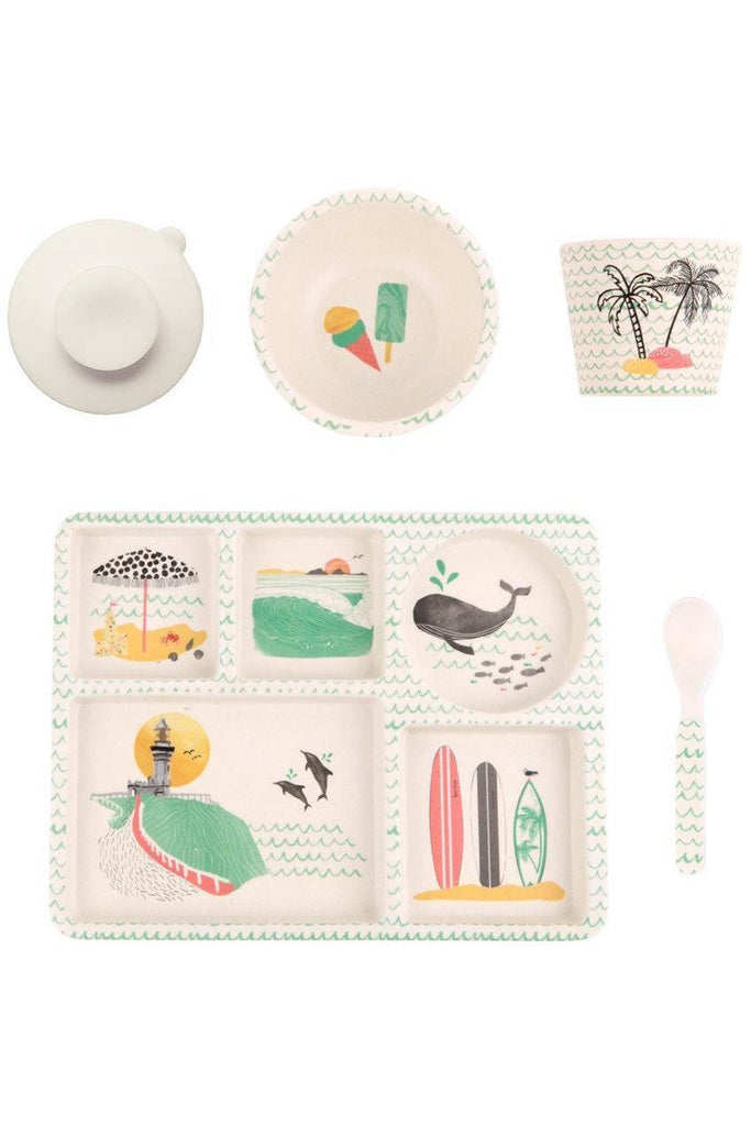 Byron Bay 5pc Bamboo Dinner Set