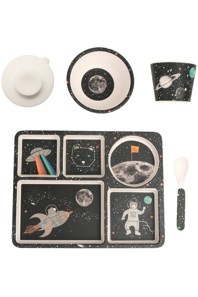 Space Adventure 5pc Bamboo Dinner Set