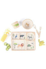 On Safari 5pc Bamboo Dinner Set