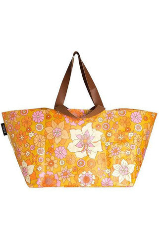 Kollab Beach Bag - Retro Mustard