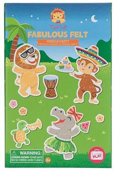 Tiger Tribe Fabulous Felt Jungle Party