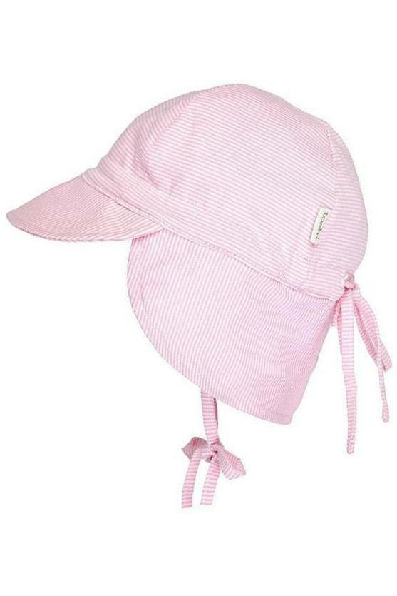 Flap Cap Baby Blush