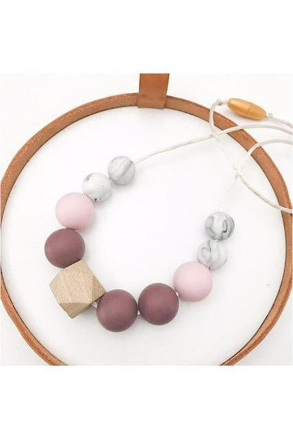 Winter Teething Necklace