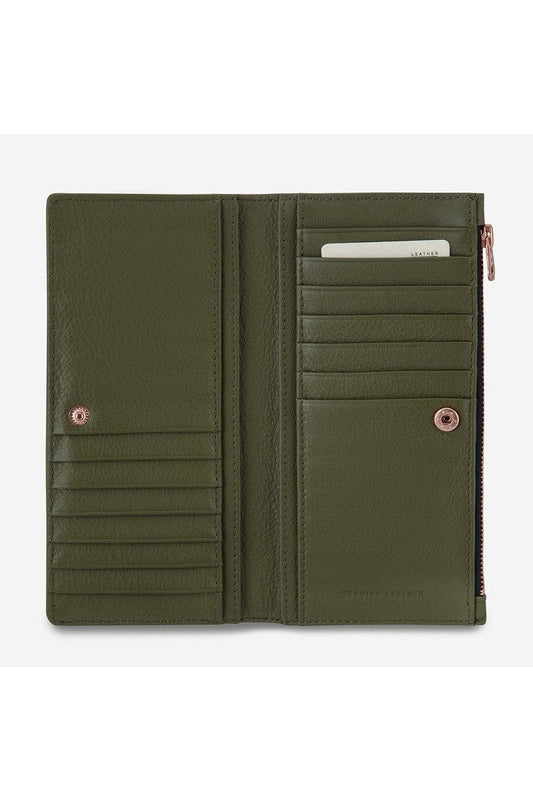 Status Anxiety -  In The Beginning Wallet - Khaki