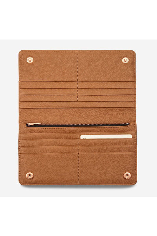 Status Anxiety - Triple Threat Wallet - Tan