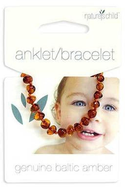 Nature's Child Amber Bracelet - Mixed