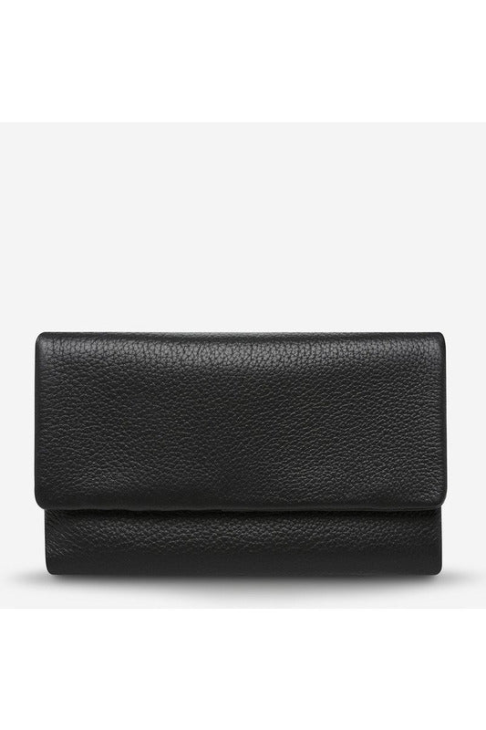 Status Anxiety - Audrey Wallet - Pebble Black