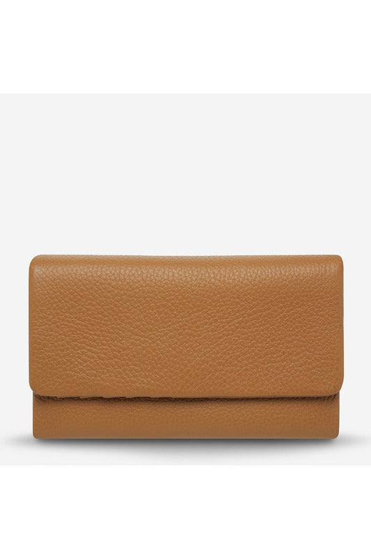 Status Anxiety - Audrey Wallet - Pebble Tan