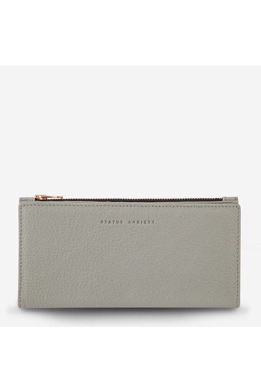 Status Anxiety -  In The Beginning Wallet - Light Grey