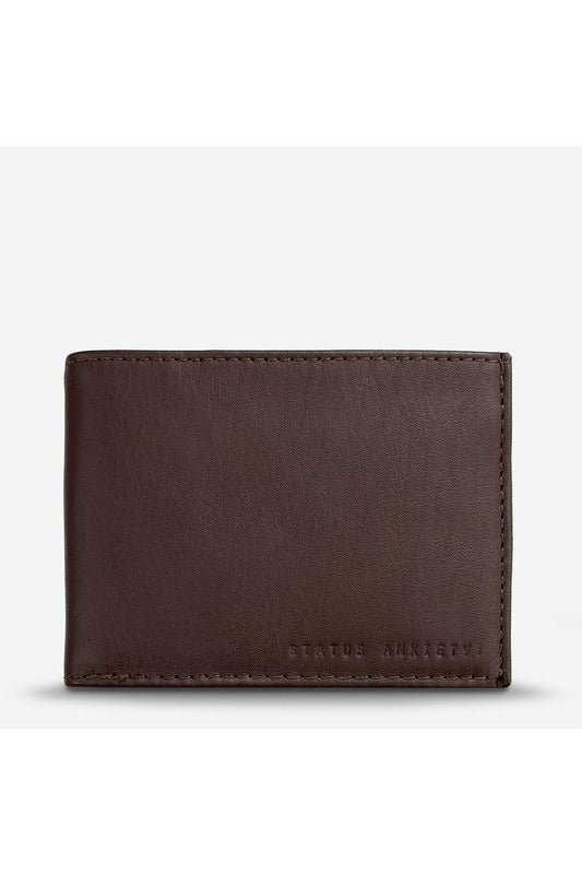 Status Anxiety - Noah Wallet - Chocolate