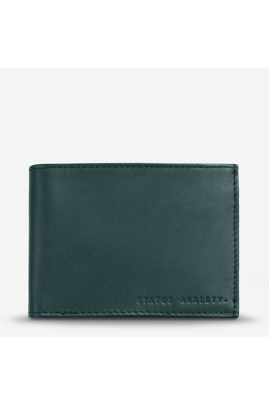 Status Anxiety - Noah Wallet - Teal