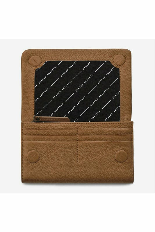 Status Anxiety - Remnant Wallet - Tan