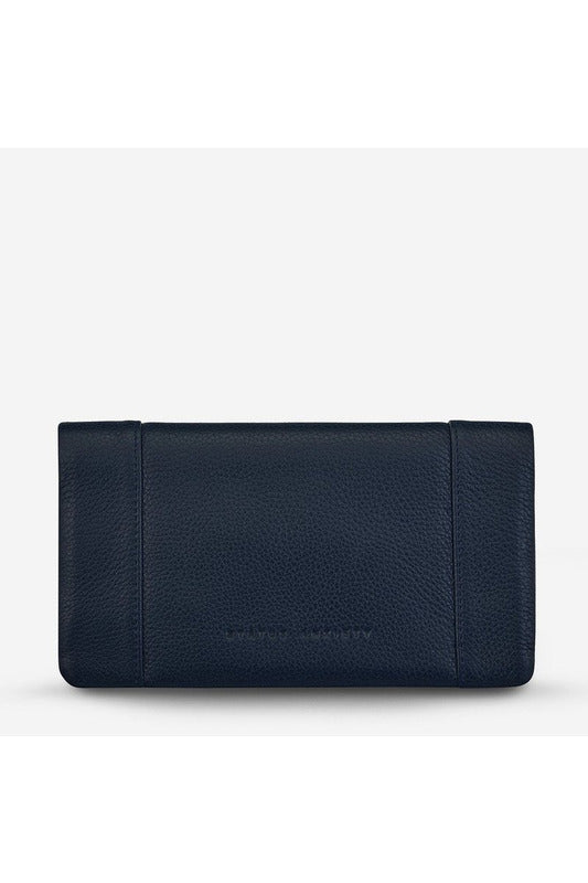 Status Anxiety - Some Type of Love Wallet - Navy Blue