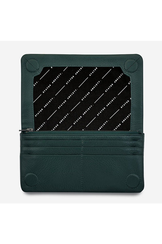 Status Anxiety - Some Type of Love Wallet - Teal