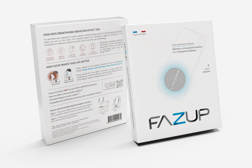 FAZUP Anti-Radiation Mobile Phone Patch (SILVER) – FazupPH