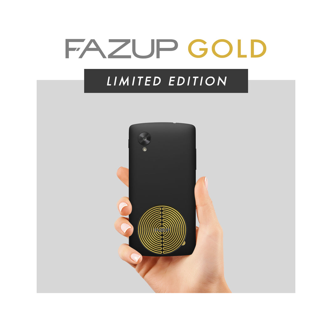 FAZUP Anti-Radiation Sticker Patch GOLD (Single Pack)